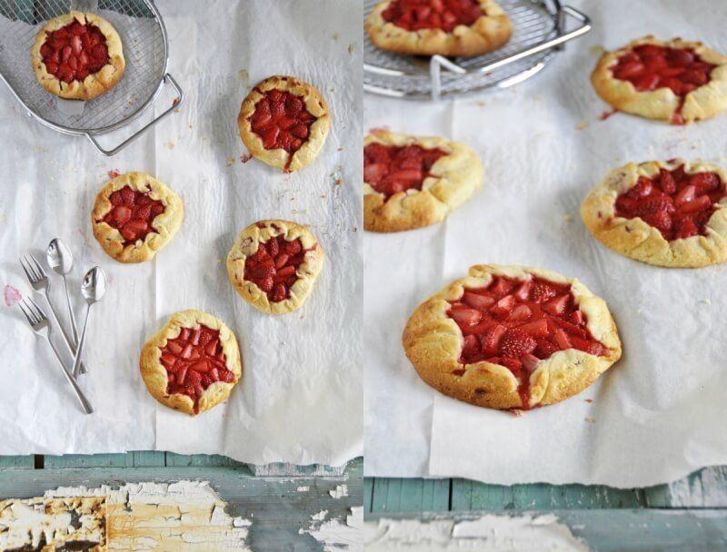 erdbeer galette