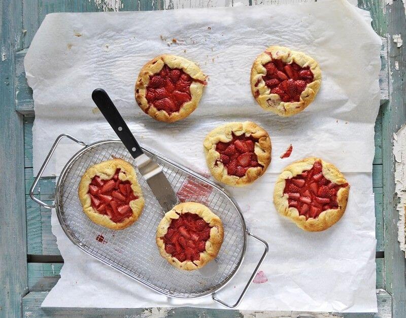 galettes erdbeere