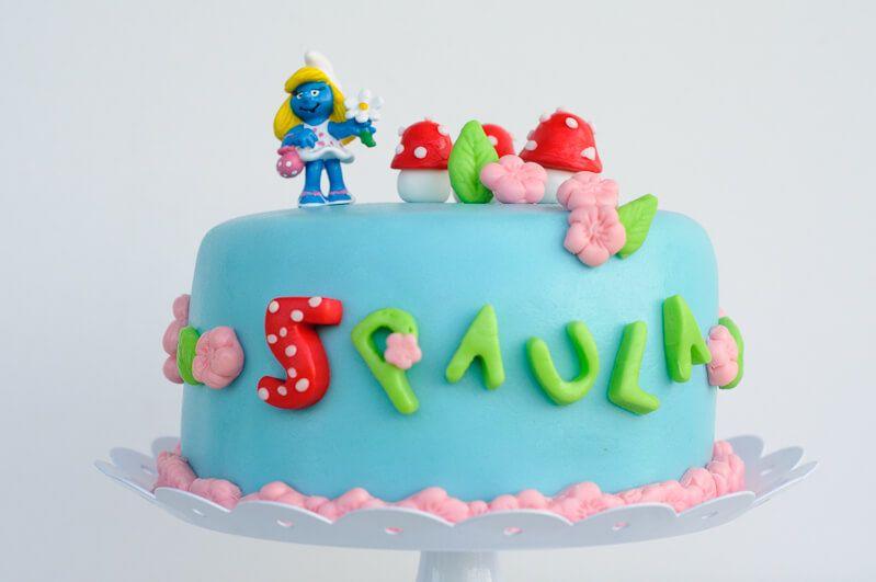 smurfs cake schlümpfe torte