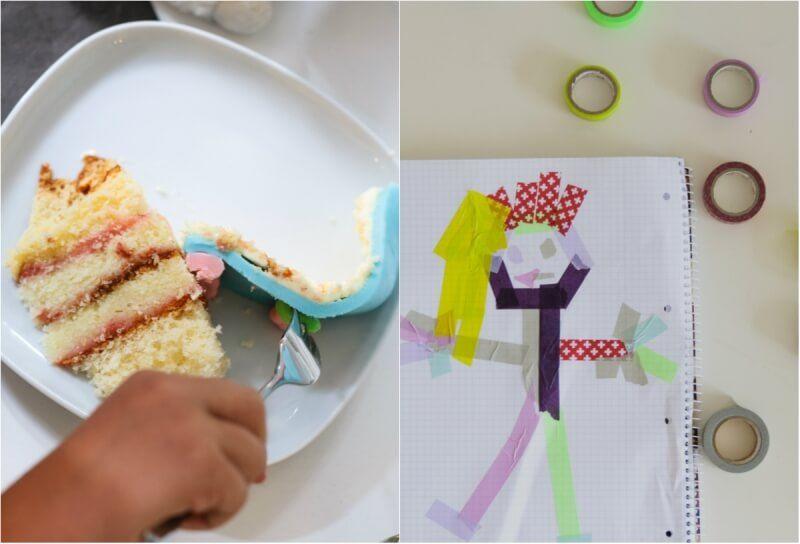 schlumpf party kindergeburtstag