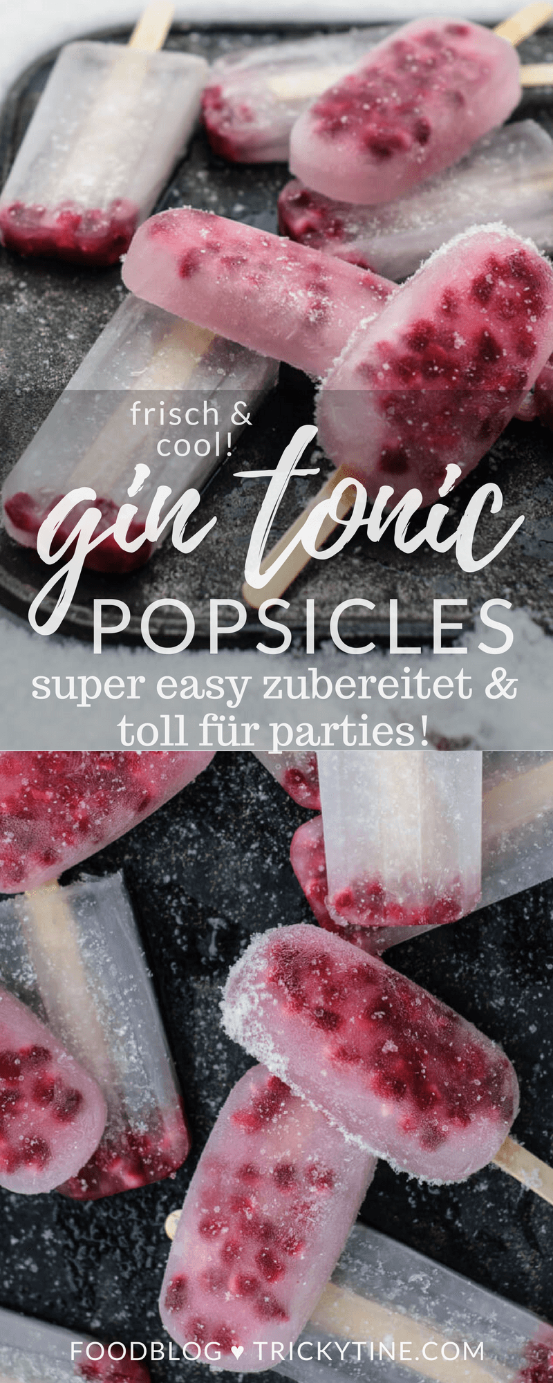 gin tonic popsicles trickytine