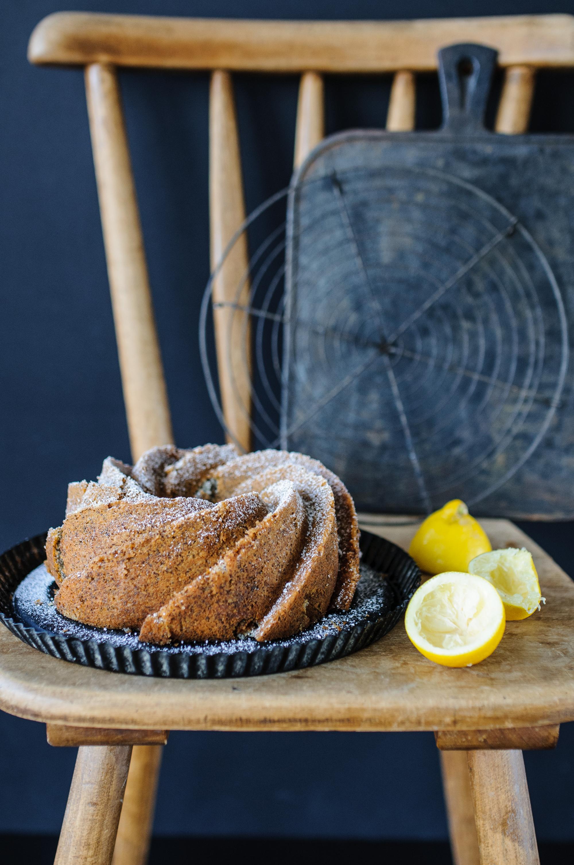 Mohn Zitronen Ruhrkuchen Oder Eine Susse Liaison In Perfektion