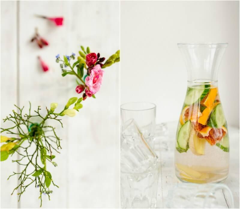 wasser obst ofengemüse blumen rezept für julia lifewillbesweet trickytine