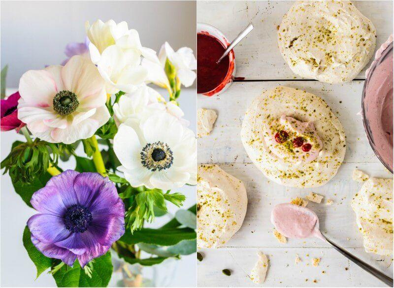 pistazien baiser pavlova erdbeer mascarpone trickytine