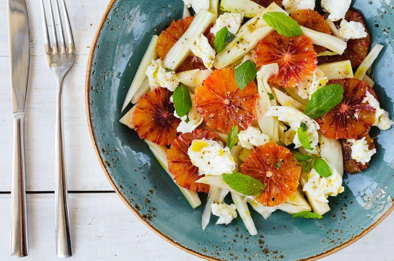 stuttgart callwey buch rezension für mich frühling salat wellness fenchel blutorange trickytine