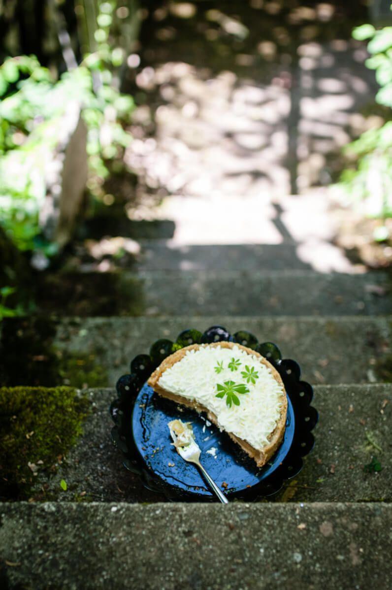 maipicknick bowle äppler waldmeister grüne sauce trickytine