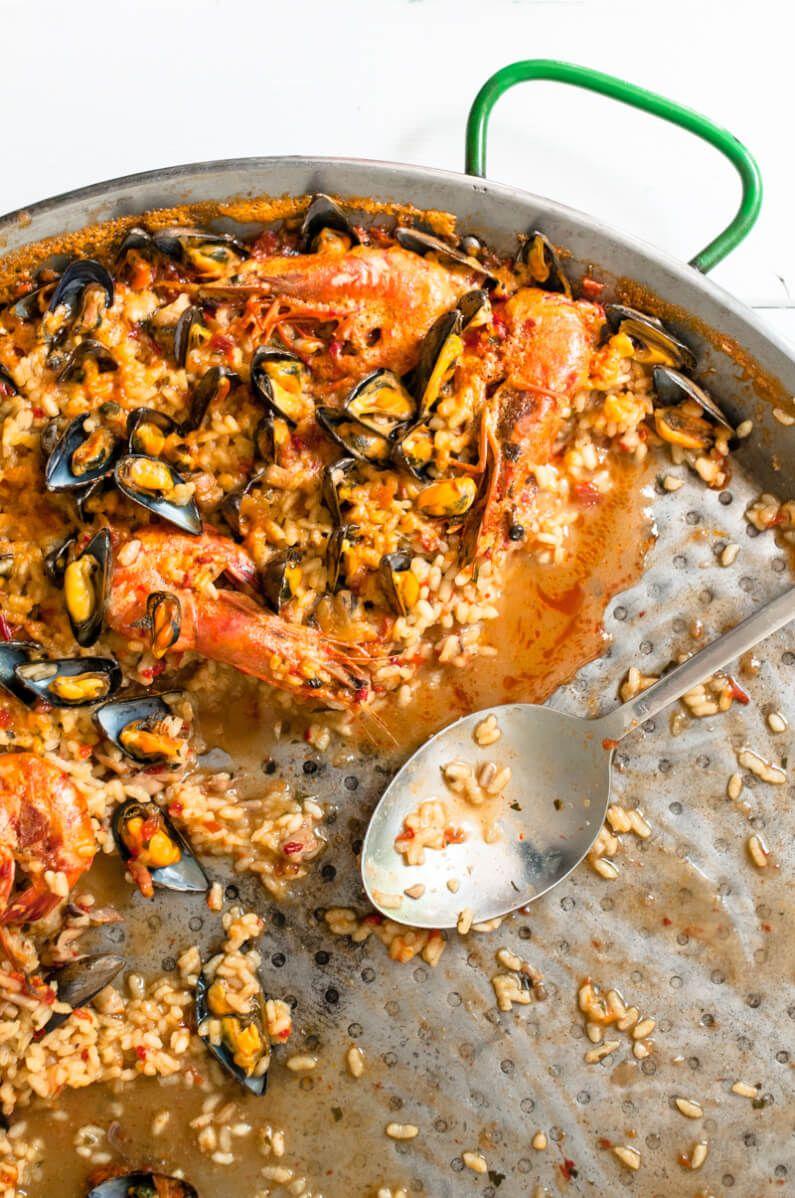 Meeresfrüchte Paella, oder: über la familia, Meeresbewohner und die leckerste Paella de Mariscos