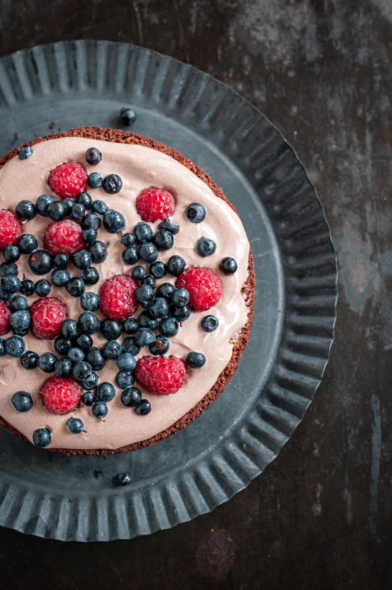 Brownie Torte trickytine Rezept