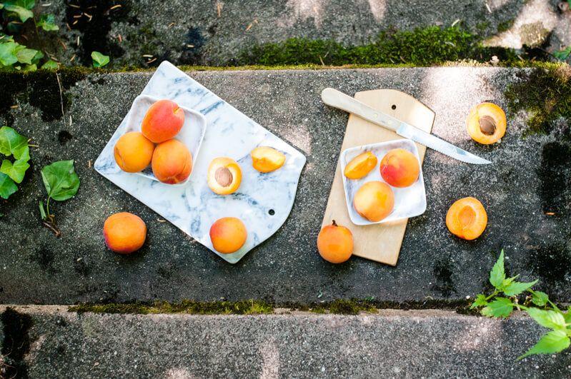 aprikosen joghurt kardamom popsicles eis am stiel