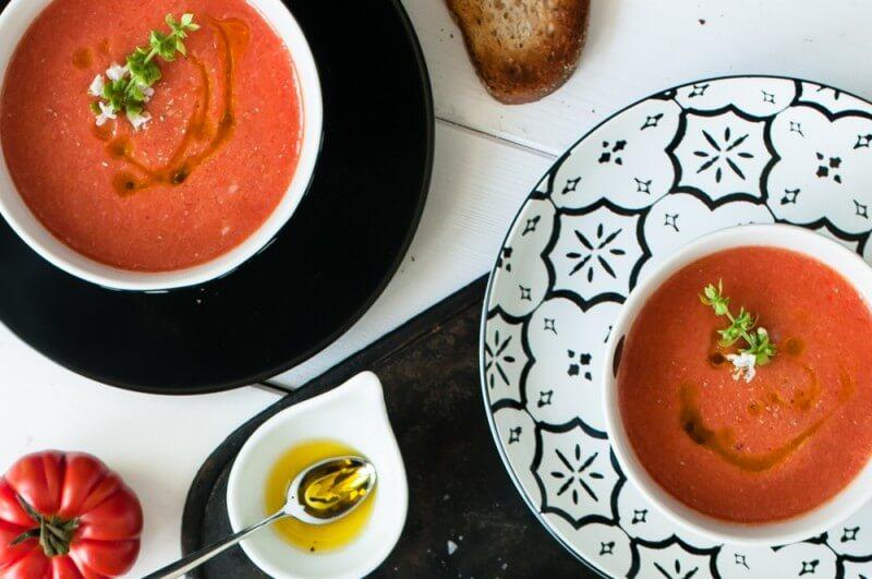 melonen tomaten gazpacho