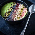 green smoothiebowl vitamix trickytine