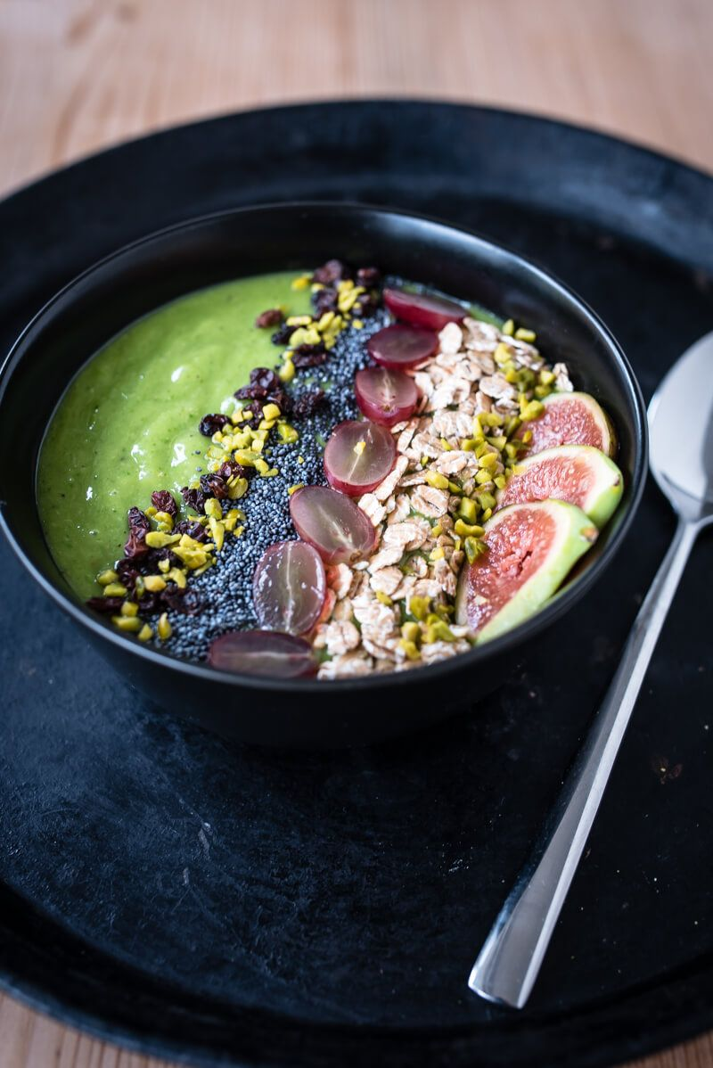 green smoothiebowl vitamix trickytine