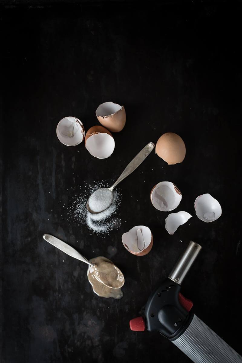 tahini crème brûlée trickytine