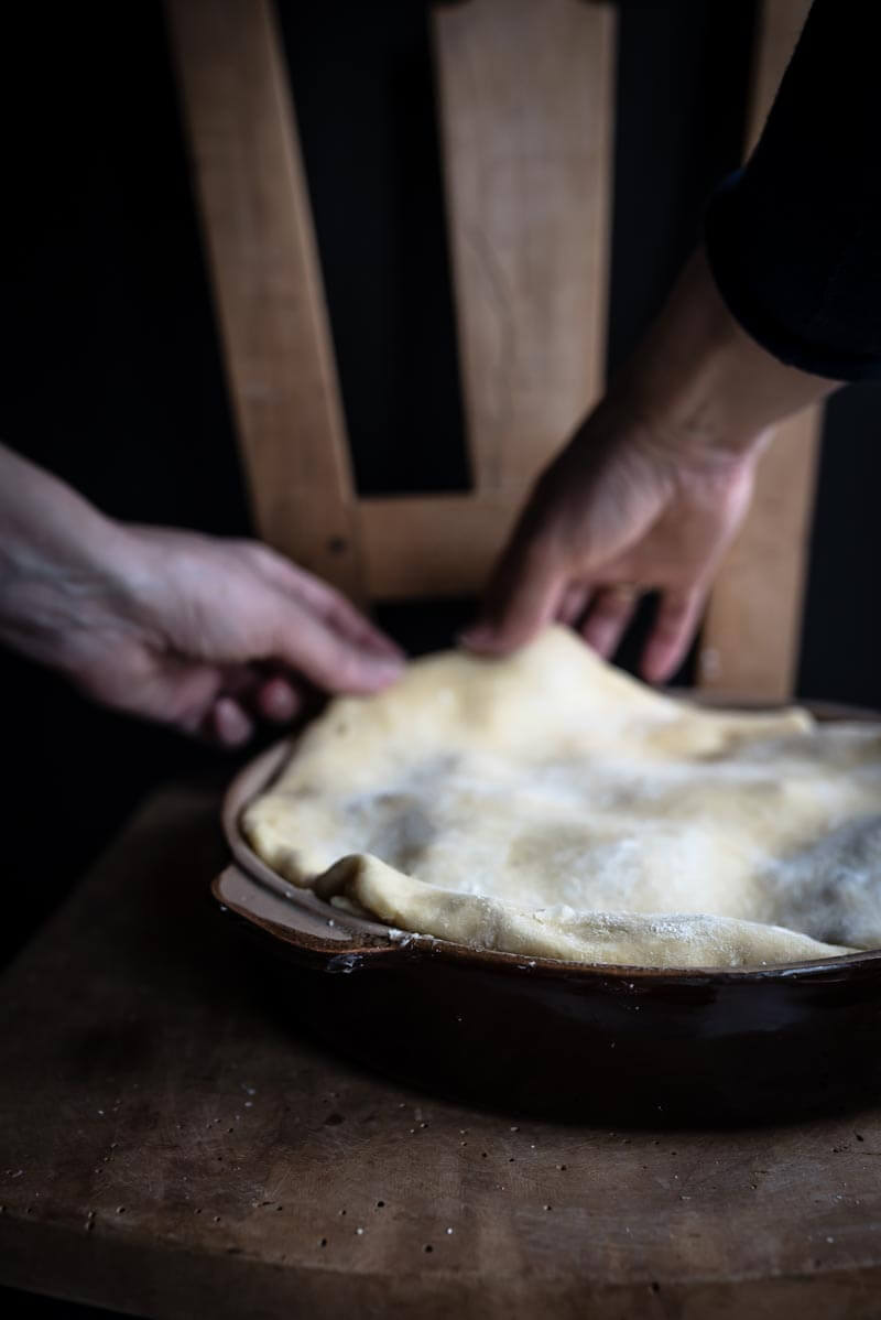 artischockentarte torta di carciofi trickytine