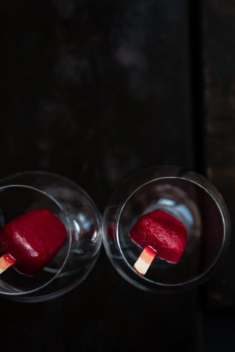 himbeer limes popsicles sekt trickytine foodistas