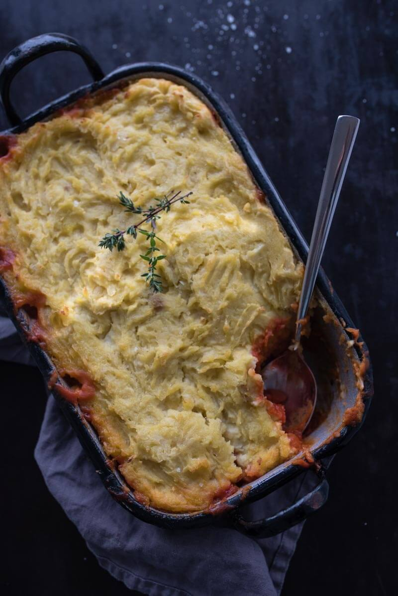sheperds pie vegan trickytine