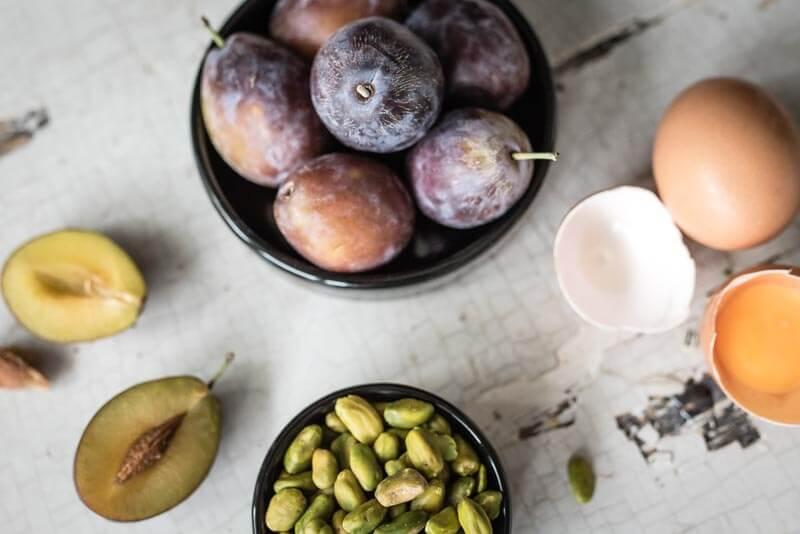 pistazien clafoutis trickytine kitchenaid mini foodblog