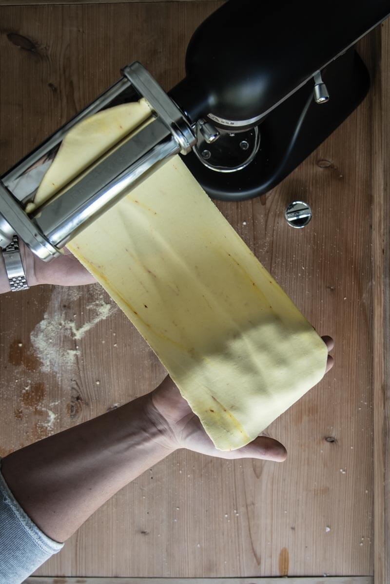 kitchenaid tagliatelle pasta trickytine bauchgold