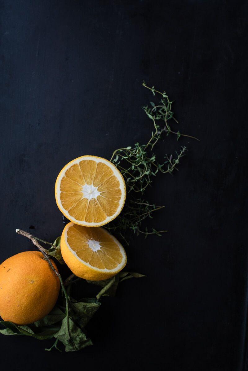 wermut orangen slush thymian grenadine trickytine