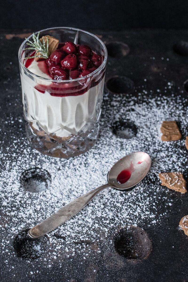 cheesecake creme spekulatius gewuerkirschen trickytine