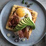 parmesan frühstück waffeln trickytine
