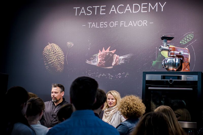 taste academy AEG stuttgart trickytine