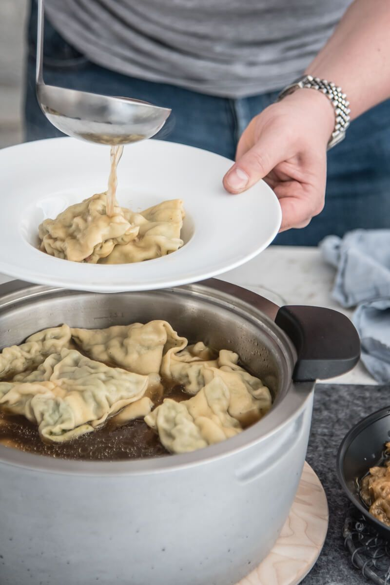 schwaebische maultaschen kartoffelsalat trickytine food blog stuttgart