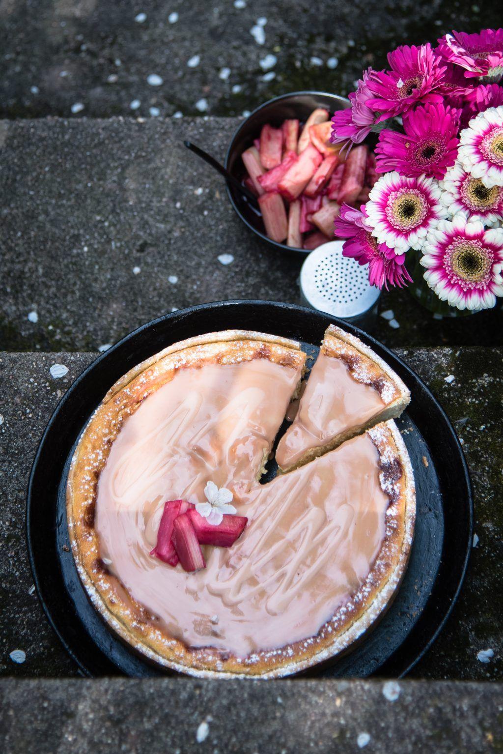 rhabarber cheesecake trickytine