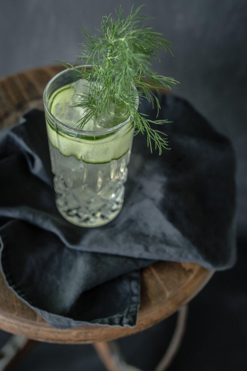 dill aquavit longdrink tonic trickytine