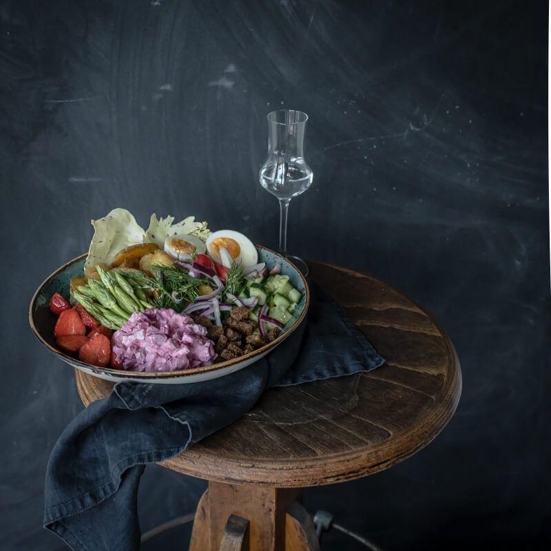 Danish Smörrebröd Bowl trickytine