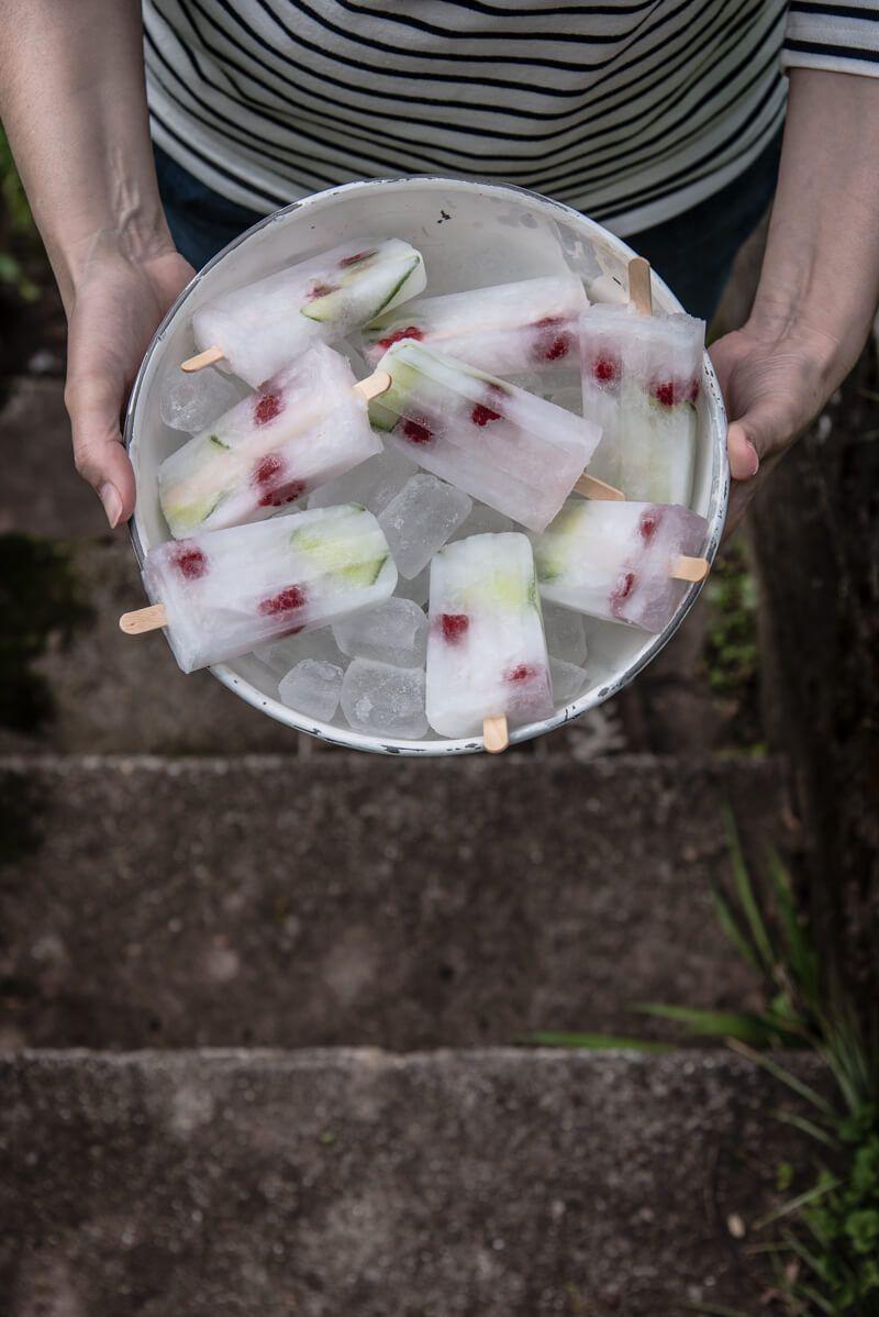 erdbeer bowle holunderlikoer trickytine