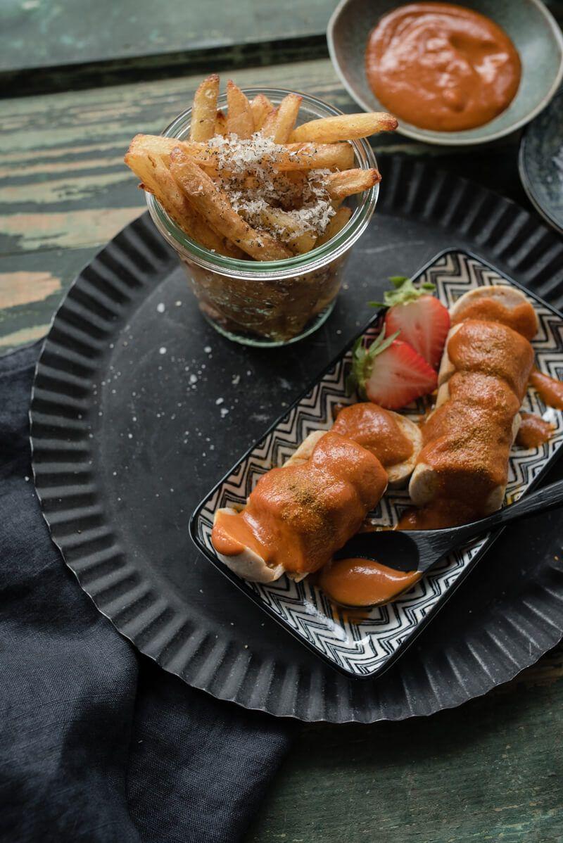 trueffelfritten pommes currywurst sansibar breuninger trickytine