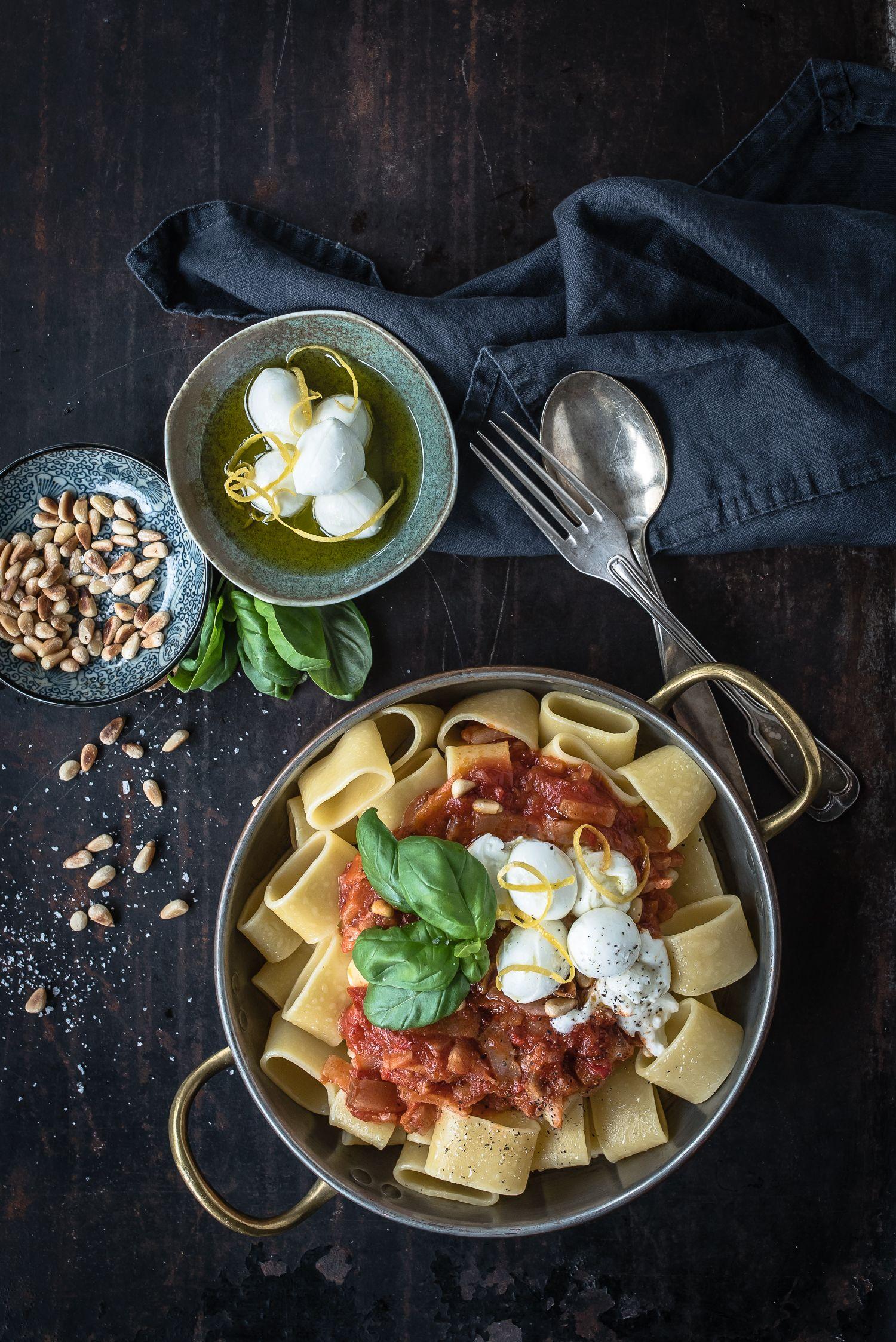 pasta amatriciana trickytine Pasta-Rezepte