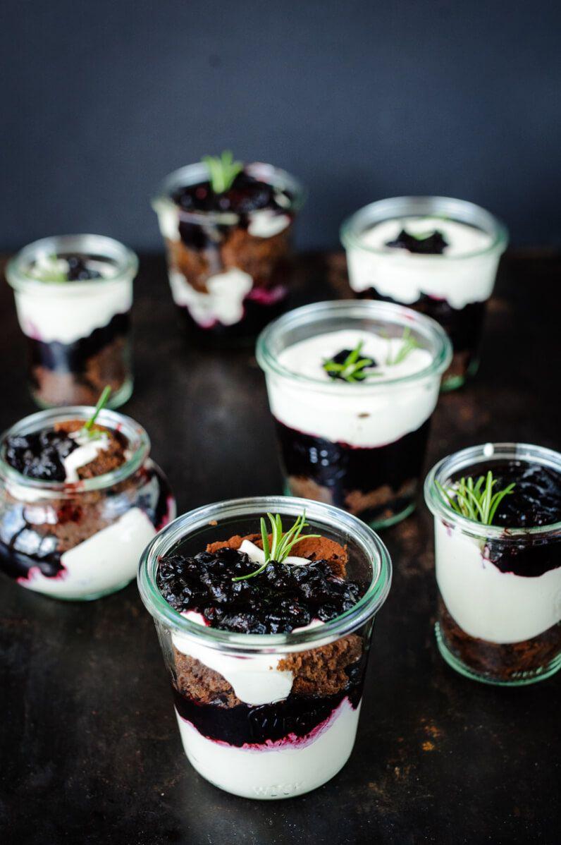 brownie dessert im glas trickytine