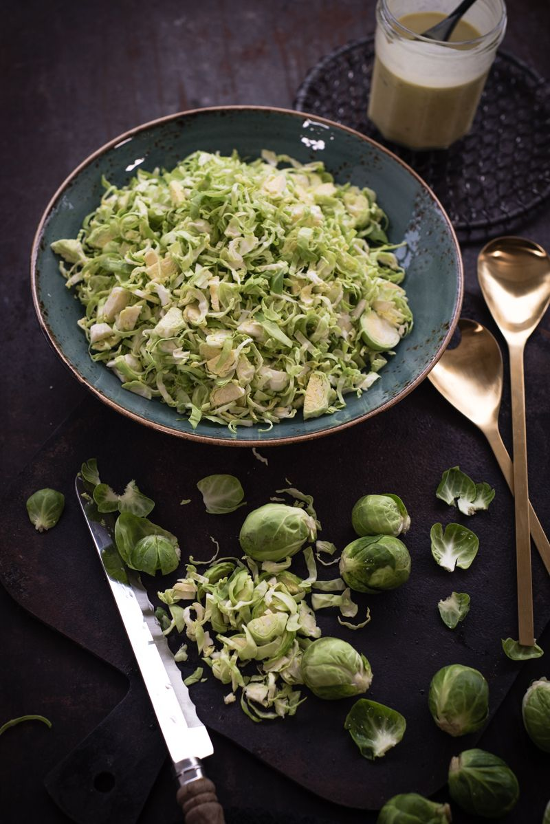 rosenkohl caesar salad trickytine