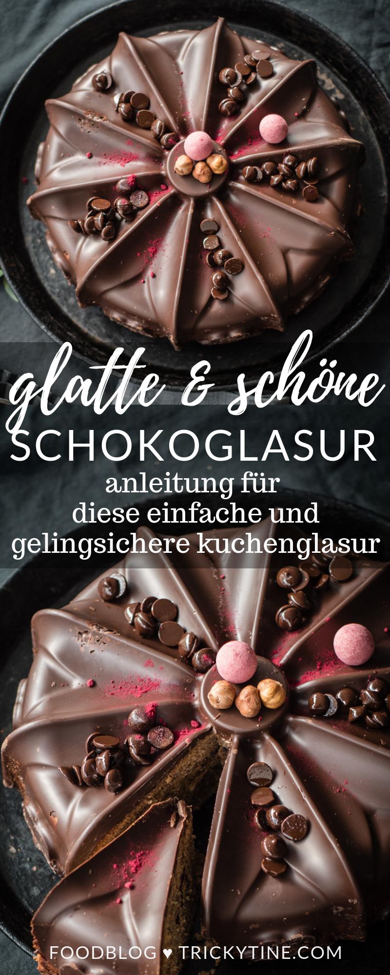anleitung für glatte schokoladenglasur trickytine
