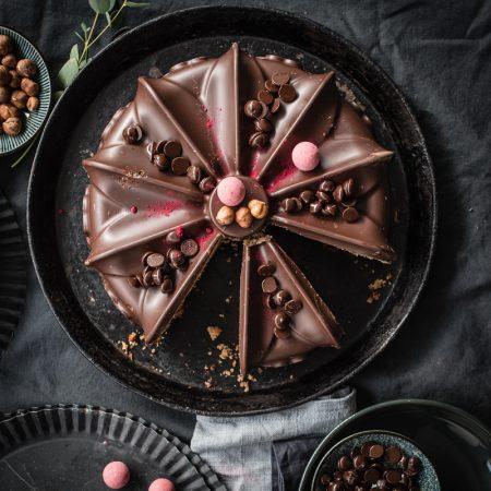 nuss nougat kuchen trickytine
