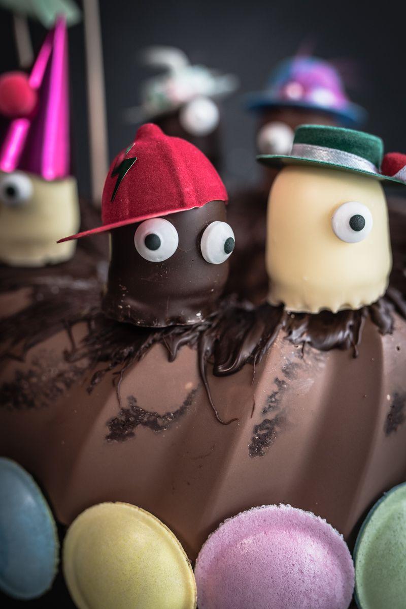 schokokuss schokoladenkuchen kindergeburtstag trickytine