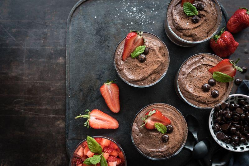 mousse au chocolat trickytine