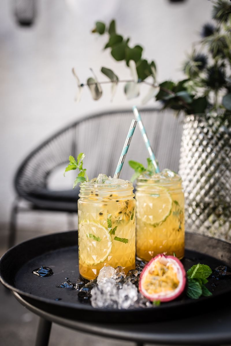 virgin mojito tonka passionfruit cocktail trickytine