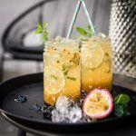 virgin mojito tonka passionfruit cocktail trickytine
