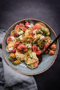 Pasta Salat Caprese trickytine