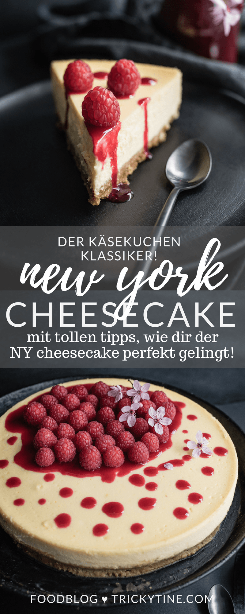 NY Cheesecake trickytine pinterest