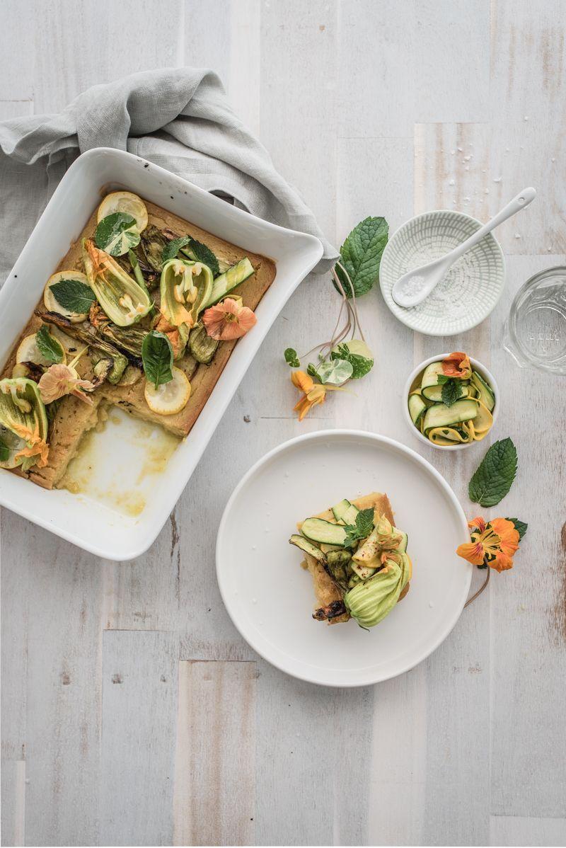 farinata zucchiniblüten trickytine