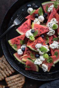 Wassermelonensalat trickytine