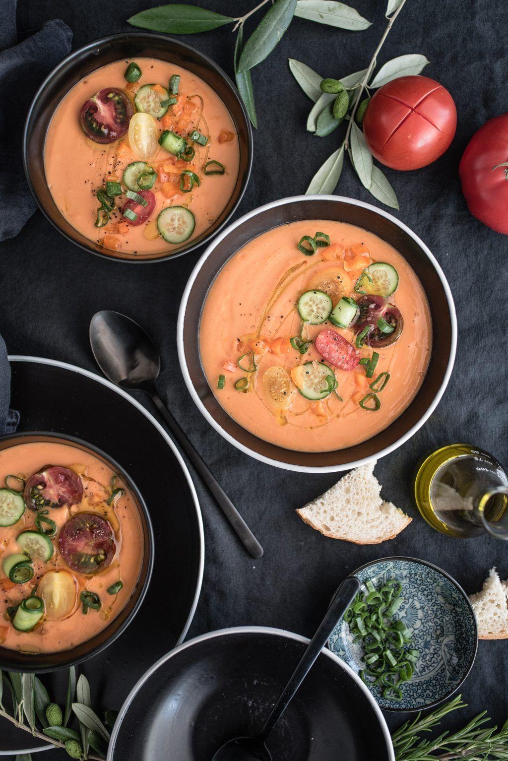 gazpacho kalte suppe trickytine