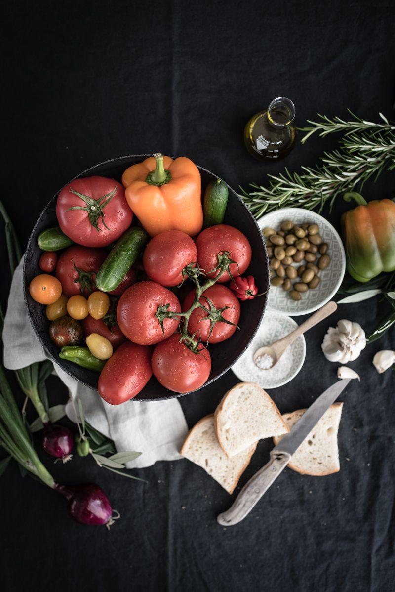rezept gazpacho andaluz trickytine