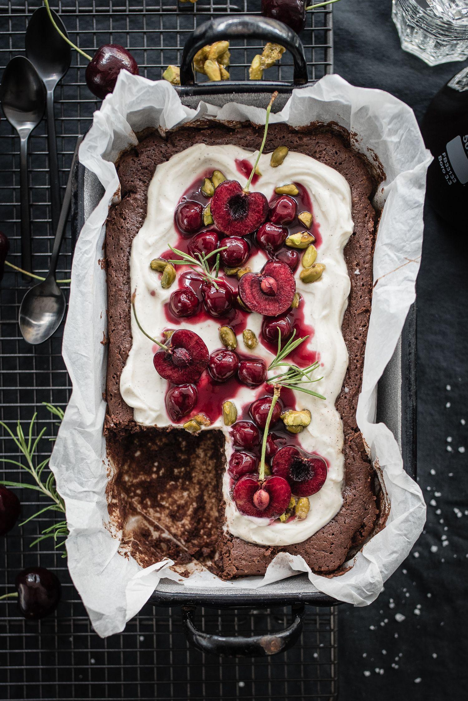 Black Forest Brownie trickytine