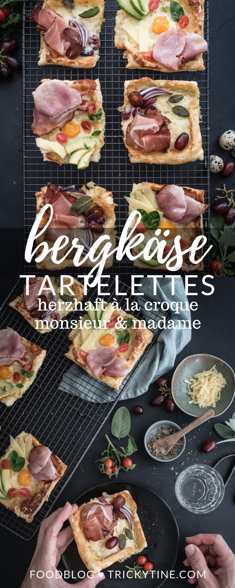 bergkaese croque monsieur madame trickytine rezept