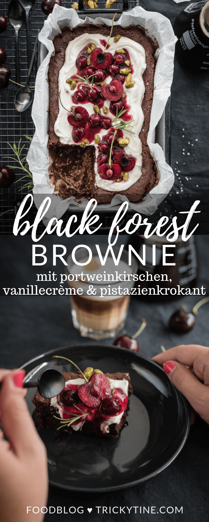 black forest brownie trickytine